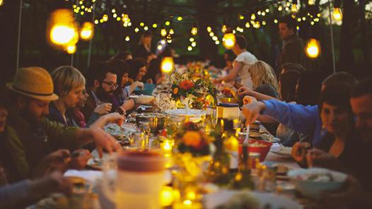 Festeggiare, imparare e mangiare bene