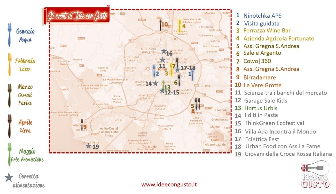 Geo localizzazione eventi genn-luglio
