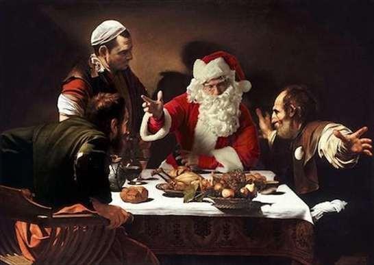Storia del Natale, storia di appetiti