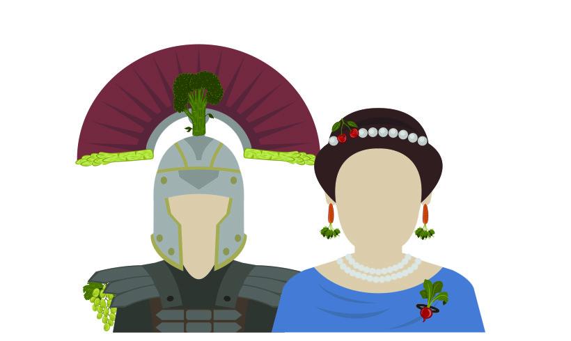 Romani di ieri. Impero del Cibo di oggi